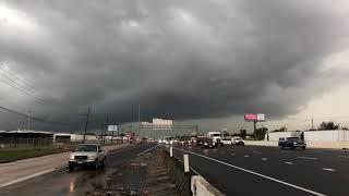 Tornado threat in Houston on HALLOWEEN!