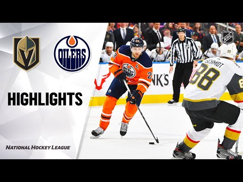NHL Highlights | Golden Knights @ Oilers 3/9/20