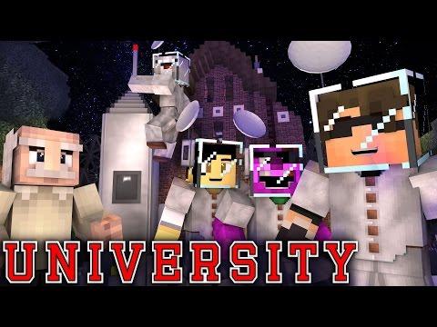 "Minecraft UNIVERSITY! - ""COSMOLOGY CHAOS"" #2 (Minecraft Roleplay) ~ SkyDoesMinecraft"