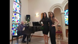 Lakme Duet by Delibes :: Performed by Clarissa Spata, Natalie Aroyan & Michael Curtain