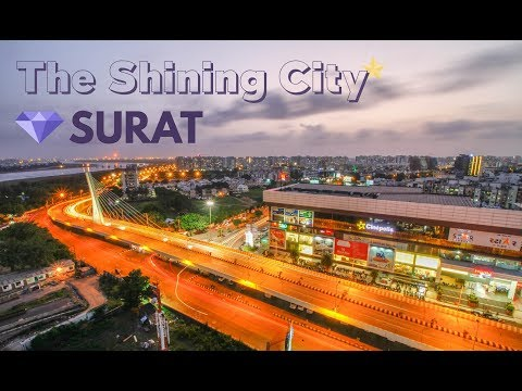 Visit to Surat - The shining city ( City skyline ) by EZCT