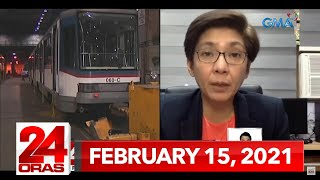 24 Oras Express: February 15, 2021 [HD]