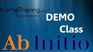 AB Initio ETL Software Tool Introductie Video Tutorial