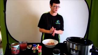 Italian Meatballs In The Slow Cooker!