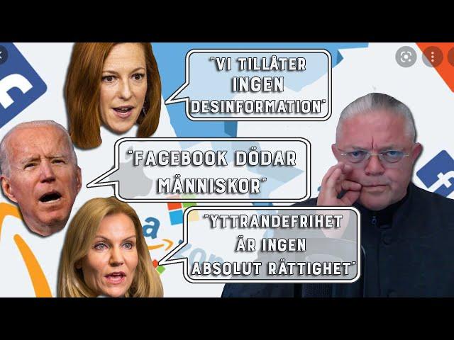 Manegen krattas för uppstyckningen av techjättarna - Carl Norberg 2021-07-19