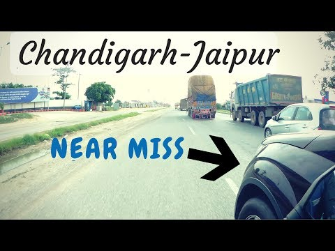 Chandigarh - Jaipur | Return | बच गए
