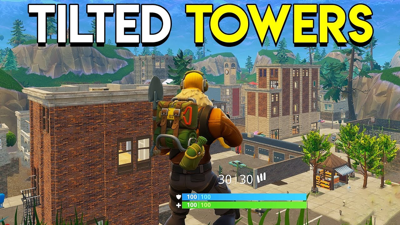 Tilted Towers , Fortnite Battle Royale