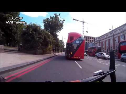 Cyclist Takes Revenge on Aggressive Bus Driver
