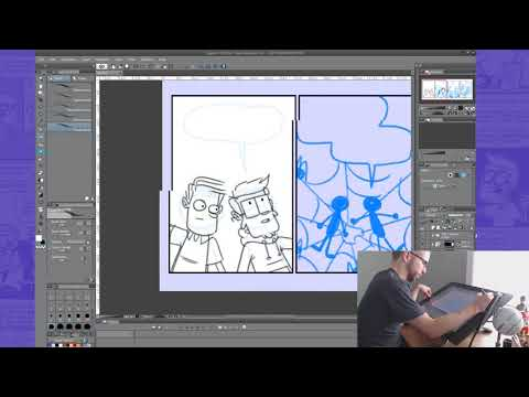Live drawing: Figment comic review | Game Pad Ink