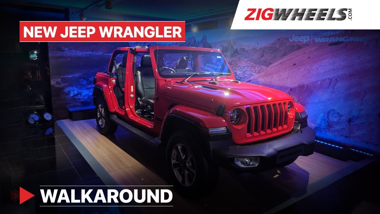 Jeep Wrangler Price, Images, Mileage, Colours, Review in India