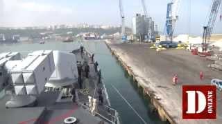 Ultima navigazione di nave Maestrale: porto di Ortona
