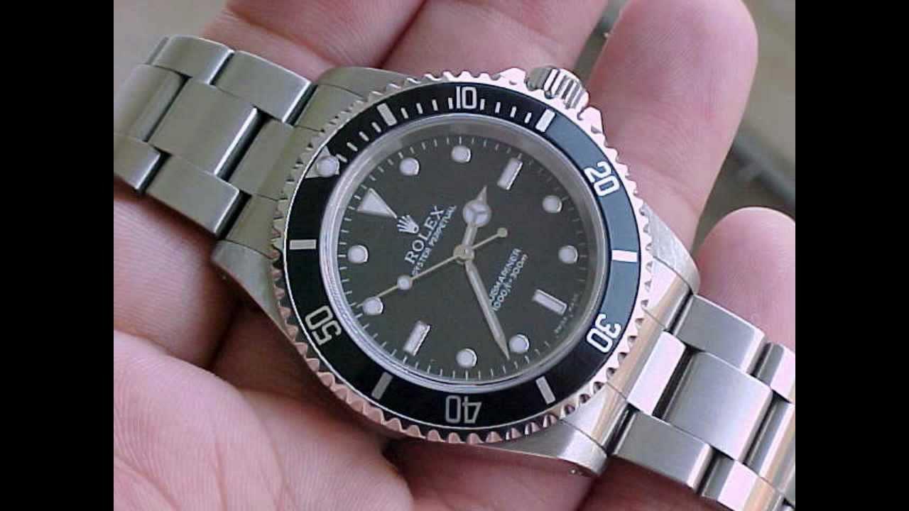 Rolex Submariner No-Date 14060 - YouTube