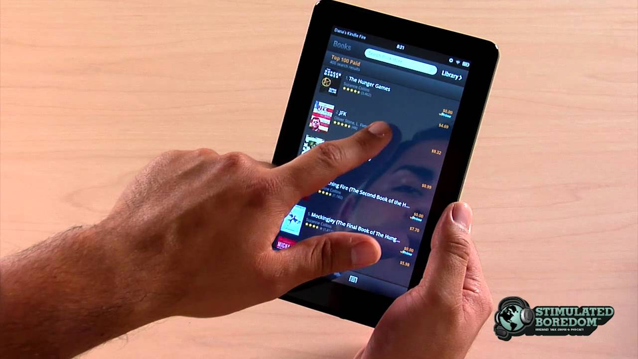 Amazon Kindle Fire Review | Part 2 of 4