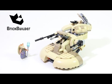 Lego Star Wars 75080 AAT - Lego Speed Build - YouTube