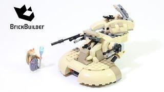 Lego Star Wars 75080 AAT - Lego Speed Build