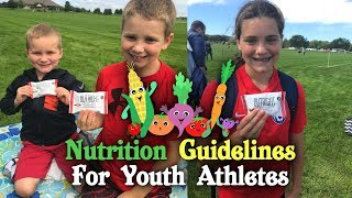 Nutrition Guidelines for Youth Athletes | Tiger Fitness