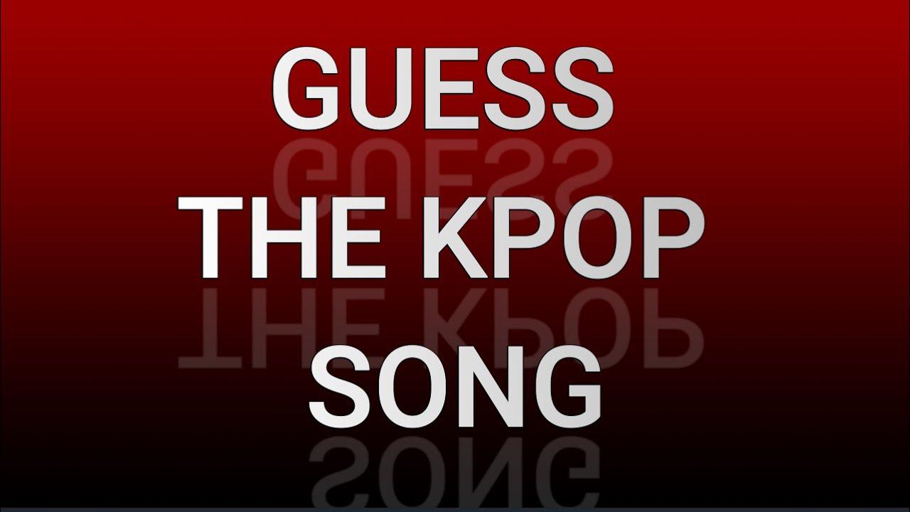 guess the k-pop song / blind test kpop/ ( 뮤지컬 퀴즈 )