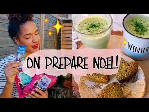 ON PREPARE NOËL 🎄 + 2 recettes de goûters HEALTHY💫| ENTREPRENEURES VLOG #11
