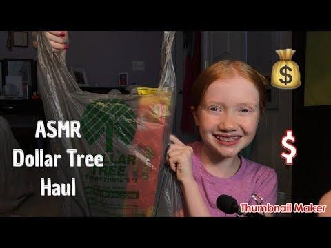 ASMR~Dollar Tree Haul