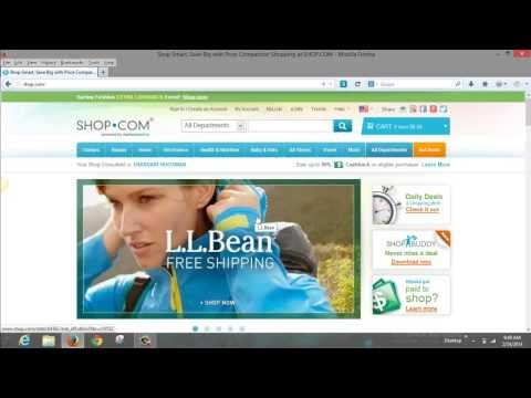 How To Earn Cash Back Shopping! Coupons And Deals Using Shop Com