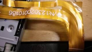 ремонт магнитоллы Pioneer AVH-3500DVD. Часть первая. Восстановление шлейфа