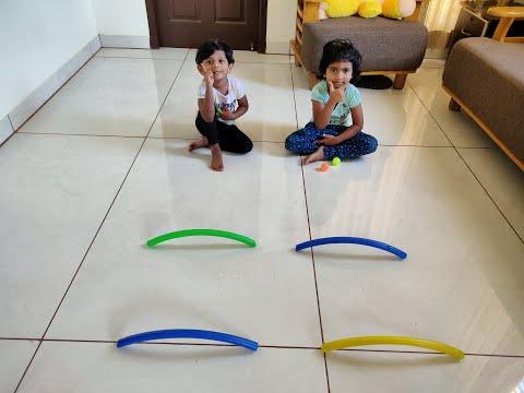 Lockdown indoor games : : kids Quarantine fun playing(Part 2)