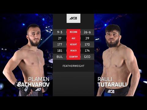 ACA 128: Пламен Бачваров vs. Рауль Тутараули | Plamen Bachvarov vs. Raul Tutarauli