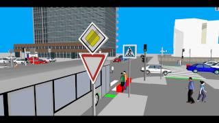 Моделирование организации дорожного движения