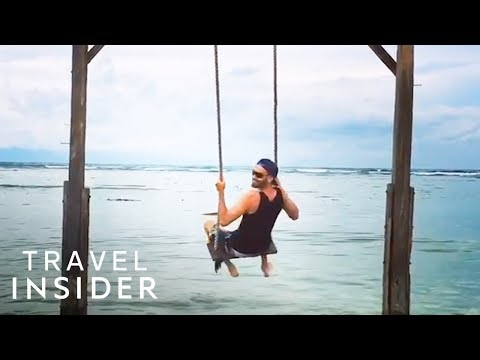 Swing Over The Ocean | Gili Islands, Indonesia