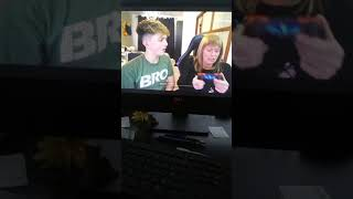 Jill. Gets taught how to play fortnite (Morgz Mum)