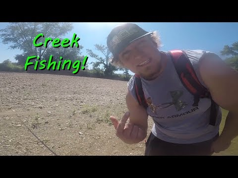 Creek fishing in Iberia Missouri!