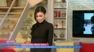 Andreea Olaru are un nou mesaj vocal