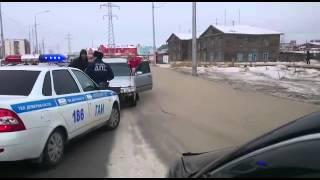 Вот так ездят в Якутске