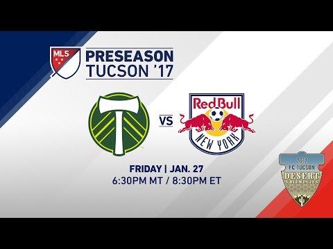 Portland Timbers Vs. NY Red Bulls | Desert Friendlies 2017 | LIVE