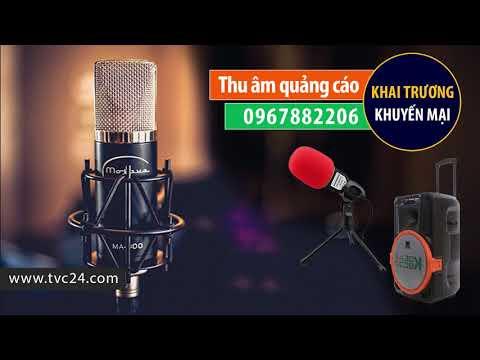 Thu âm quảng cáo shop hoa trang trí Kim Phụng giọng đọc MC nữ đài truyền hình Việt Nam VTV