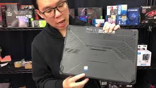 แกะกล่อง ASUS TUF Gaming FX505 เกมมิ่่่งโน้ตบุ๊คขอบจอบางรุ่นล่าสุด เริ่ม  27,900 บาท - Unbox