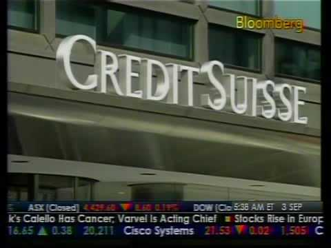 Credit Suisse Exec On Sick Leave - Bloomberg