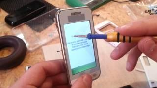 Как откалибровать тач на Samsung S5230, калибровка сенсора после замены(Все запчасти и инструменты на нашем сайте - http://aymobile.com.ua Мы в ВК http://vk.com/aymobile Здравствуйте, уважаемые зрители..., 2013-11-02T21:43:24.000Z)