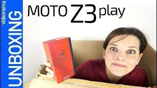 Moto Z3 play unboxing -la VENGANZA de los motoMOD--