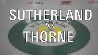 2020 U21 - Thorne vs Sutherland