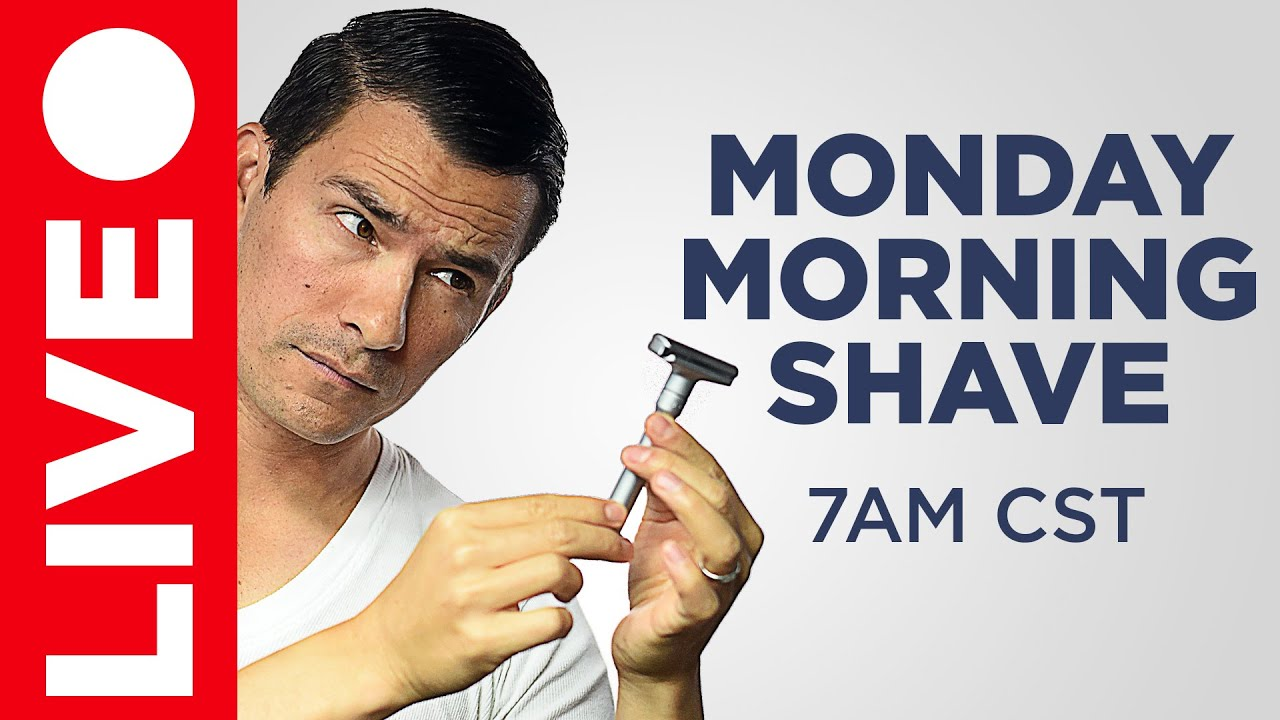 🔴 Shave With Antonio LIVE - Monday Morning May 25th LIVE Q&A Coffee w/RMRS