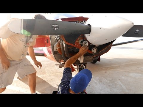 Mooney M20J Alternator Failure at Pompano Beach Florida