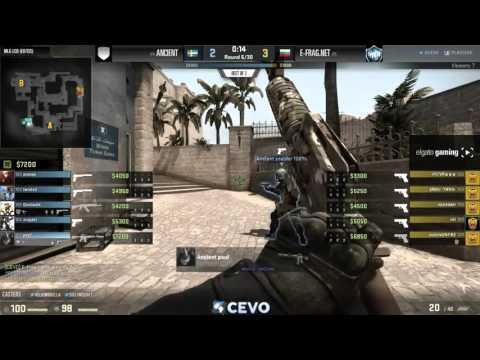 Ancient vs E-Frag.net - Game 1 - MLG CS:GO LCQ (EU/CIS)