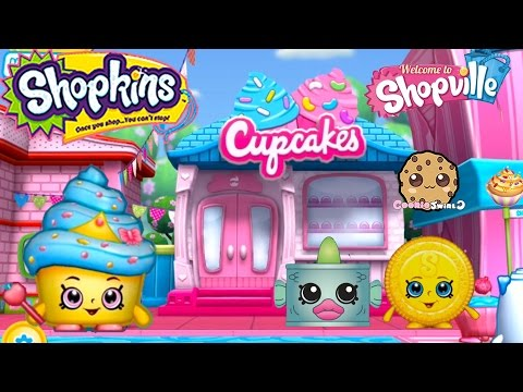 Play Welcome To Shopville Shopkins App Game Cupcake Baking ...