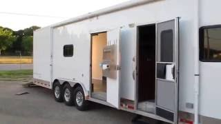 2014 Vintage Intimidator, race car trailer with LQ, clean and lots of extras