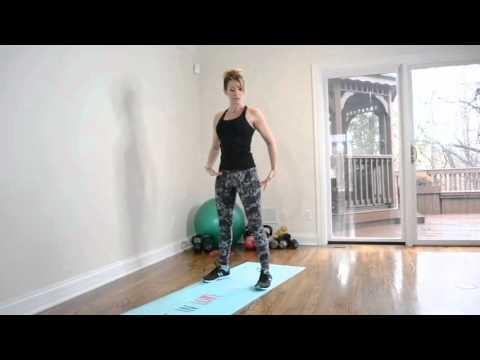 Home Workout Hip Hinge