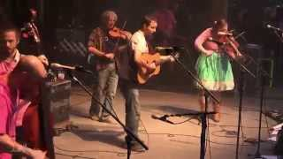 Yonder Mountain String Band performing  Crazy Train