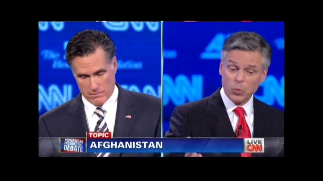 """Huntsman to Romney: """"Did You Hear What I Just Said?"""" (on ..."""
