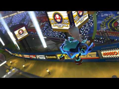 Testing Mario Kart 8