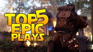 HEAVY OBJECTIVE PLAYS - Battlefront 2 Top 5 Plays